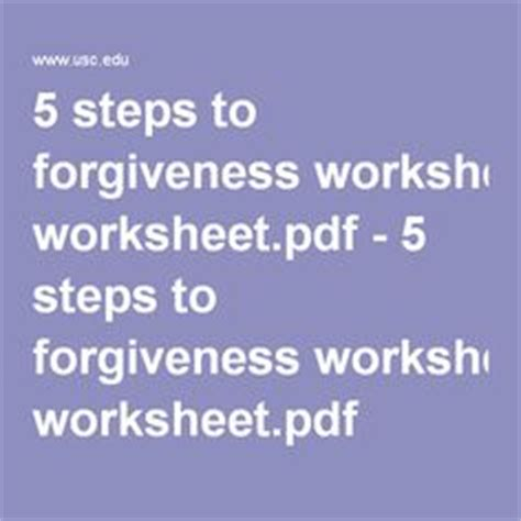 Story about forgiveness essay